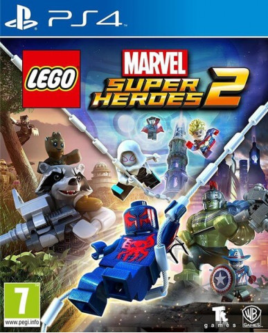 LEGO MARVEL SUPER HEROES 2 + ΔΩΡΟ SPINNER - PS4 NEW GAME