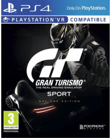 GRAN TURISMO SPORT DAY ONE EDITION - PS4 GAME