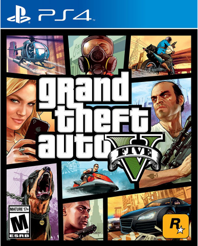 GRAND THEFT AUTO V (GTA V) - PS4 NEW GAME