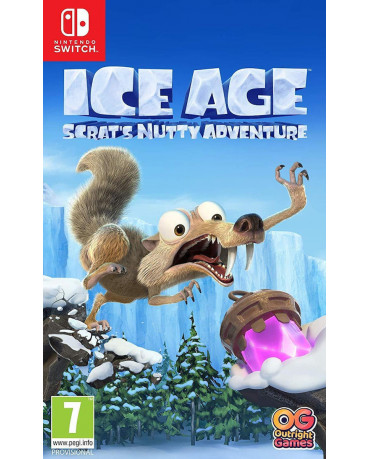 ICE AGE SCRAT'S NUTTY ADVENTURE - SWITCH GAME