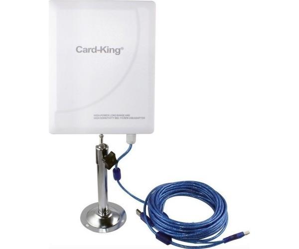 Εξωτερική Κεραία Ασύρματου Δικτύου 300Mbps WiFi 20 dBi EDUP Card-King KW-3016N