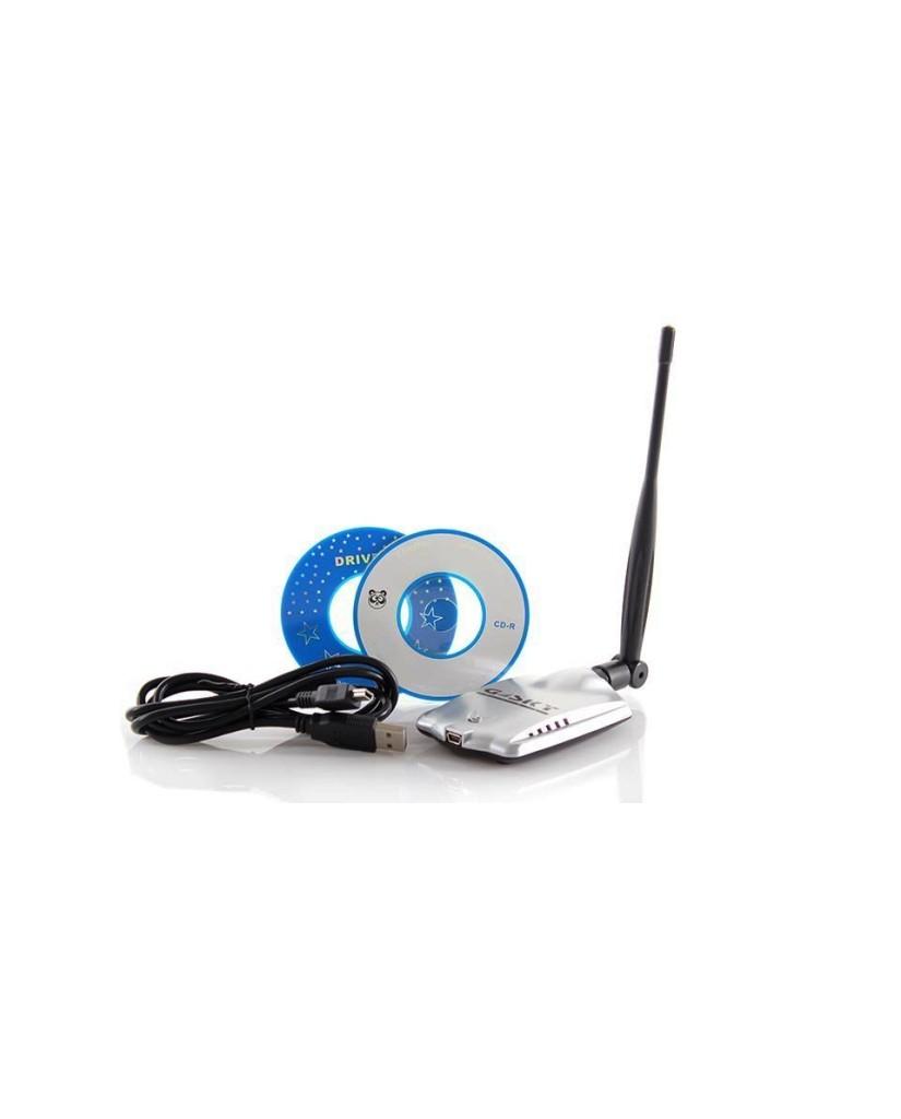 Εξωτερική Κεραία Ασύρματου Δικτύου 54Mbps USB WiFi 5dBi Πολύ Ισχυρής Λήψεως 300M Gsky GS-27USB-50
