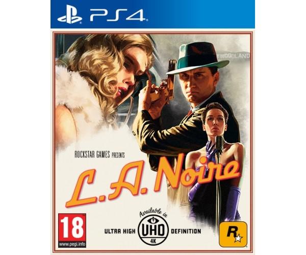 L.A. NOIRE - PS4 GAME
