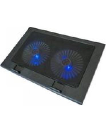 Laptop Cooler Με LED Φωτισμό - Multi Core Cooling Pad BJB-668 για Φορητούς Υπολογιστές έως 17″