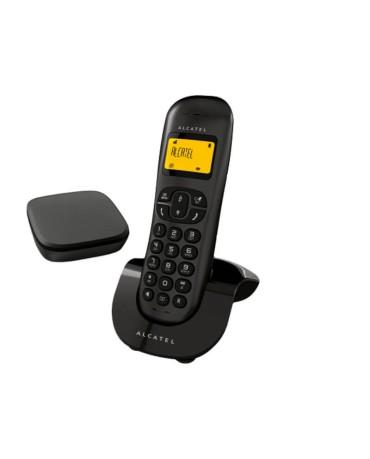 Ασύρματο Τηλέφωνο Alcatel C250 Invisibase – Μαύρο
