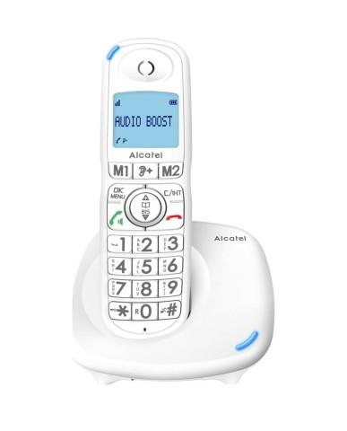 Ασύρματο Τηλέφωνο  Alcatel XL575 (Μεγάλα Πλήκτρα) – Λευκό