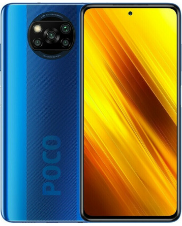 Xiaomi Poco X3 (6.67'') 4G - 6GB/128GB Cobalt Blue (Ελληνικό menu-Global Version) EU