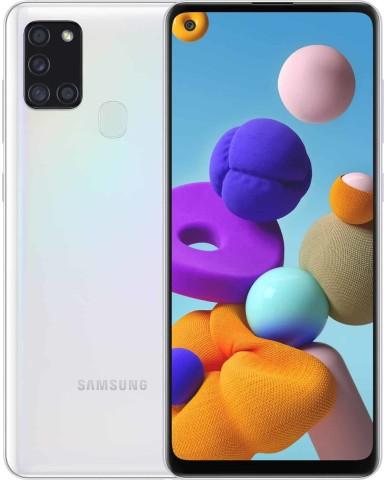 Samsung Galaxy A21s (6.5'') 4G - 4GB/128GB Dual SIM – White EU