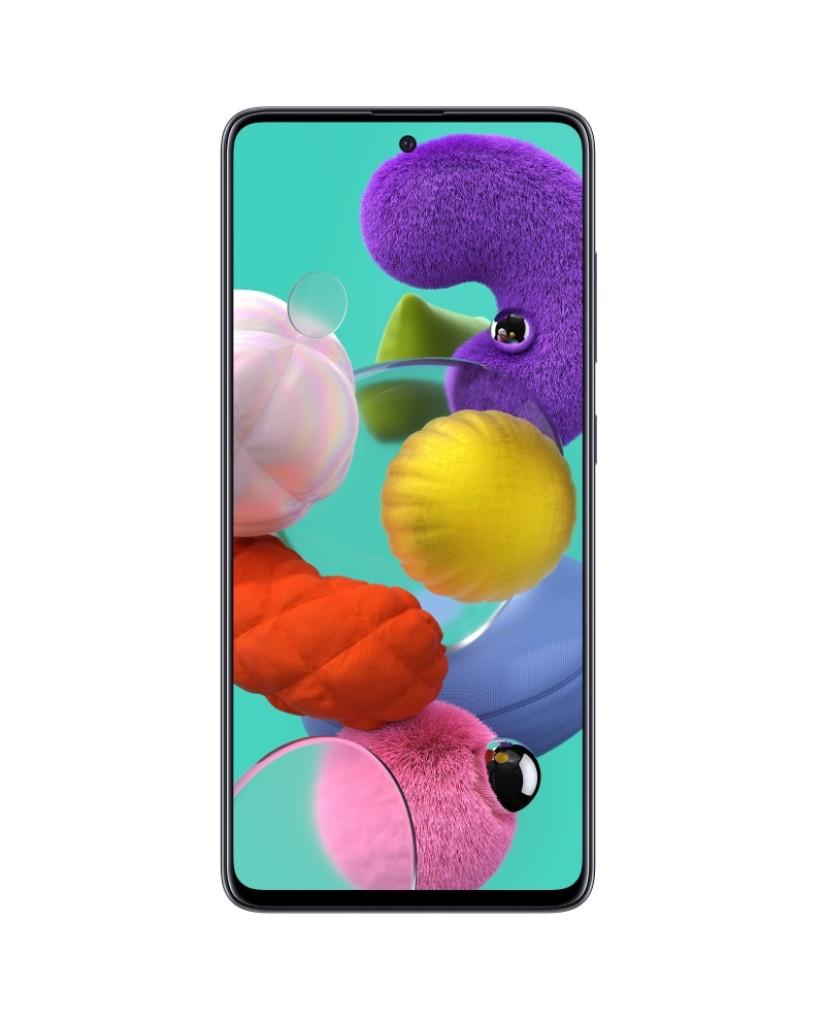 """Samsung Galaxy A51 (6.5"""") 4G - 4GB/128GB Dual SIM - SM-A515F Black EU"""
