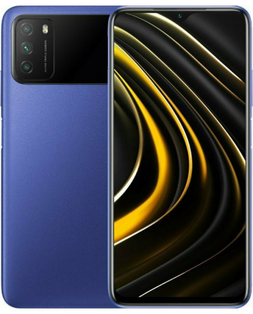 Xiaomi Poco M3 (6.53'') Dual Sim 4G - 4GB/64GB Cool Blue (Ελληνικό menu-Global Version) EU