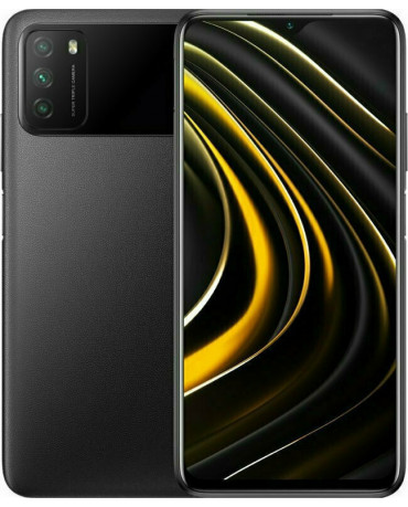 Xiaomi Poco M3 (6.53'') Dual Sim 4G - 4GB/64GB Power Black (Ελληνικό menu-Global Version) EU