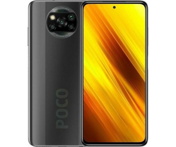 Xiaomi Poco X3 (6.67'') 4G - 6GB/128GB NFC MZB07TCEU Shadow Gray (Ελληνικό menu-Global Version) EU