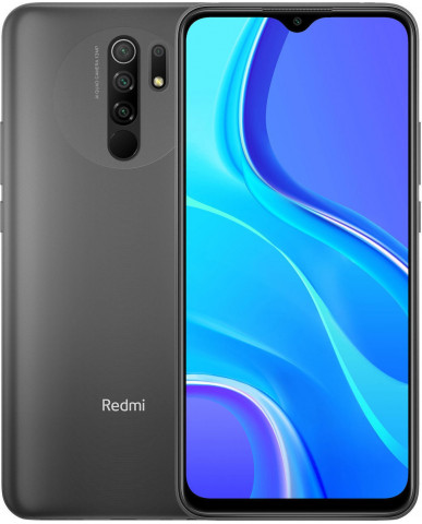 Xiaomi Redmi 9 (6.53'') Dual SIM 4G - 4GB/64GB NFC Carbon Grey (Ελληνικό menu-Global Version) EU