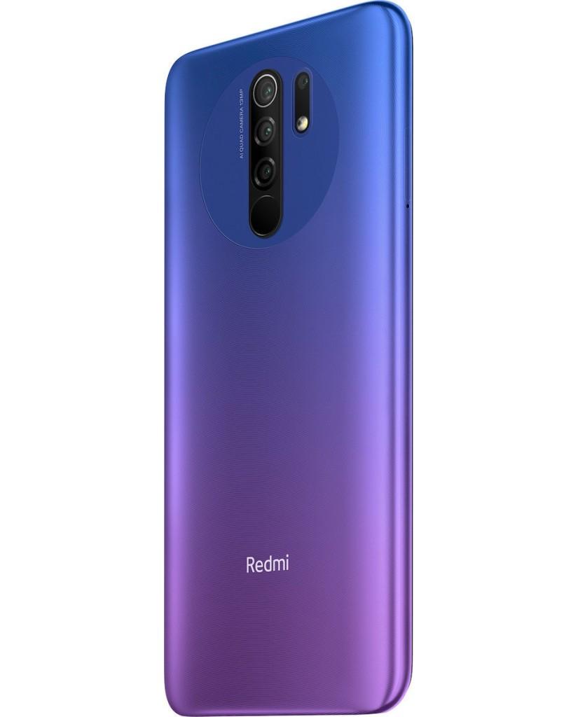 Xiaomi Redmi 9 (6.53'') Dual SIM 4G - 4GB/64GB Sunset Purple (Ελληνικό menu-Global Version) EU