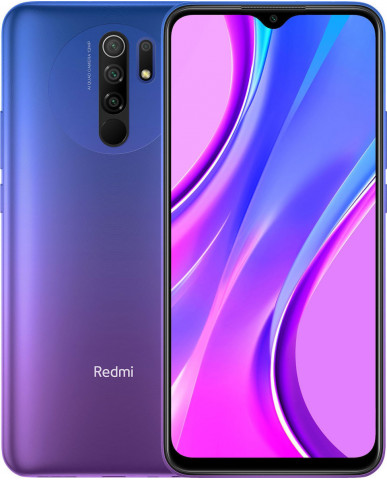 Xiaomi Redmi 9 (6.53'') Dual SIM 4G - 4GB/64GB Sunset Purple (Ελληνικό menu-Global Version) EU