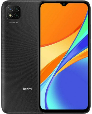 Xiaomi Redmi 9C NFC (6.53'') Dual SIM 4G - 3GB/64GB Midnight Gray (Ελληνικό menu-Global Version) EU