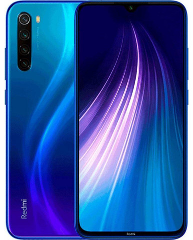 Xiaomi Redmi Note 8 (6.3'') Dual SIM 4G – 4GB/64GB Blue (Ελληνικό Menu-Global Version) EU