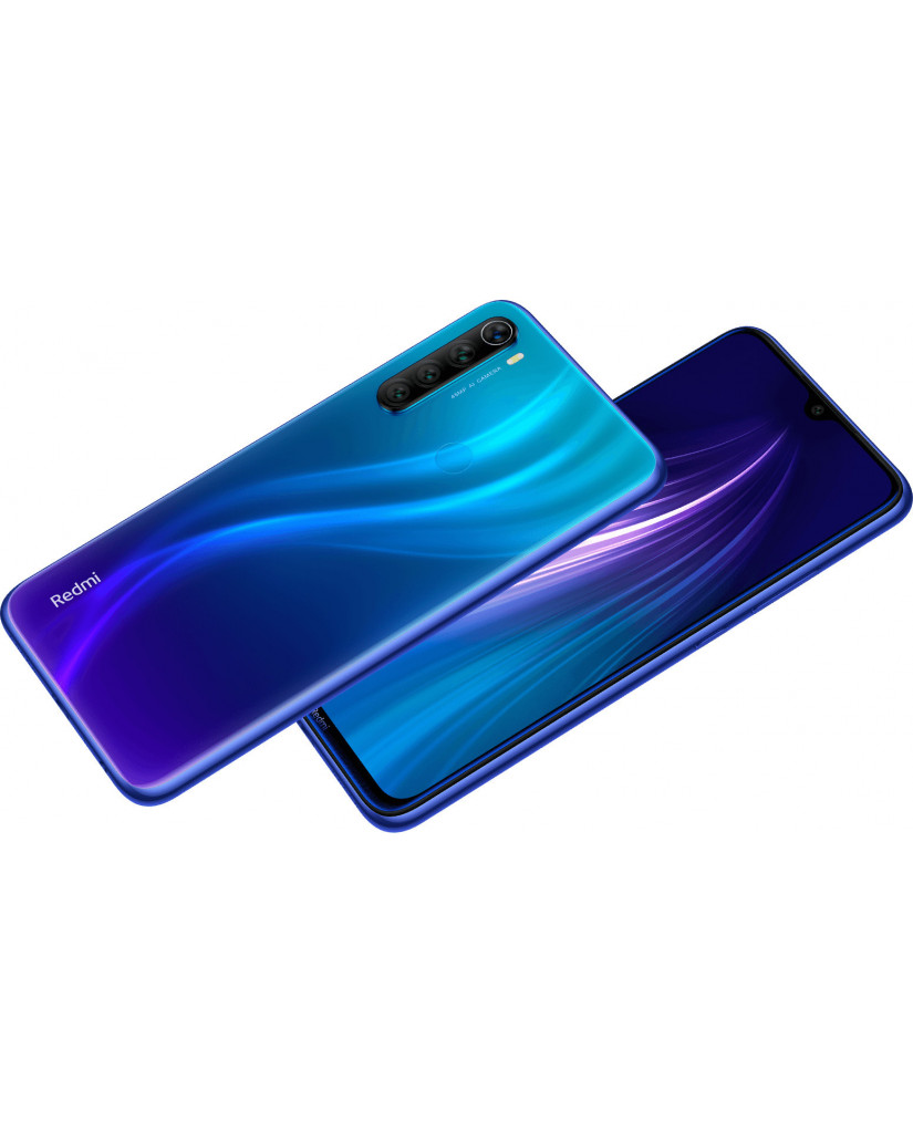 Xiaomi Redmi Note 8 (6.3'') Dual SIM 4G – 4GB/64GB Blue (Ελληνικό Menu-Global Version) EU