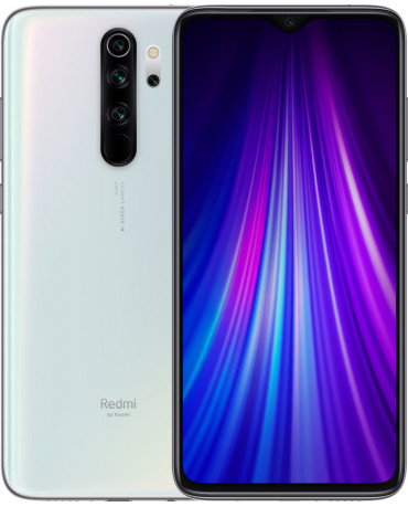 Xiaomi Redmi Note 8 Pro (6.53'') Dual SIM 4G – 6GB/128GB White (Ελληνικό Menu-Global Version) EU