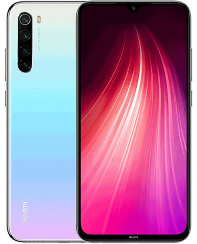 Xiaomi Redmi Note 8 (6.3'') Dual SIM 4G – 4GB/64GB Moonlight White (Ελληνικό Menu-Global Version) EU