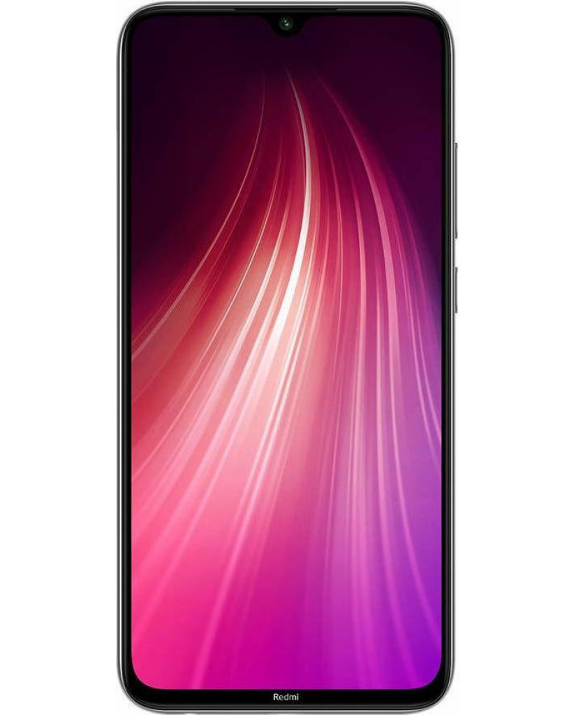 Xiaomi Redmi Note 8 (6.3'') Dual SIM 4G – 4GB/64GB Moonlight White (Ελληνικό Menu-Global Version) EU