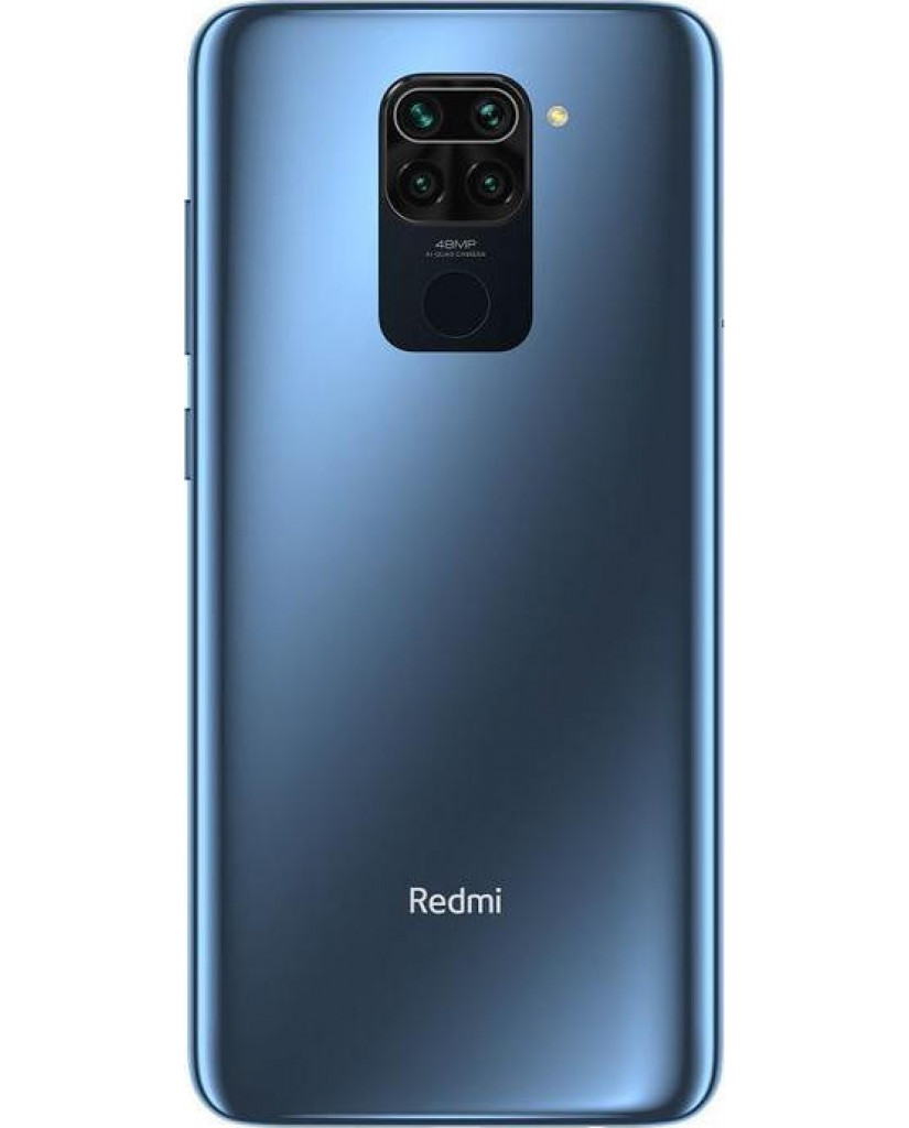 Xiaomi Redmi Note 9 (6.53'') Dual SIM 4G – 4GB/128GB Midnight Grey (Ελληνικό Menu-Global Version) EU