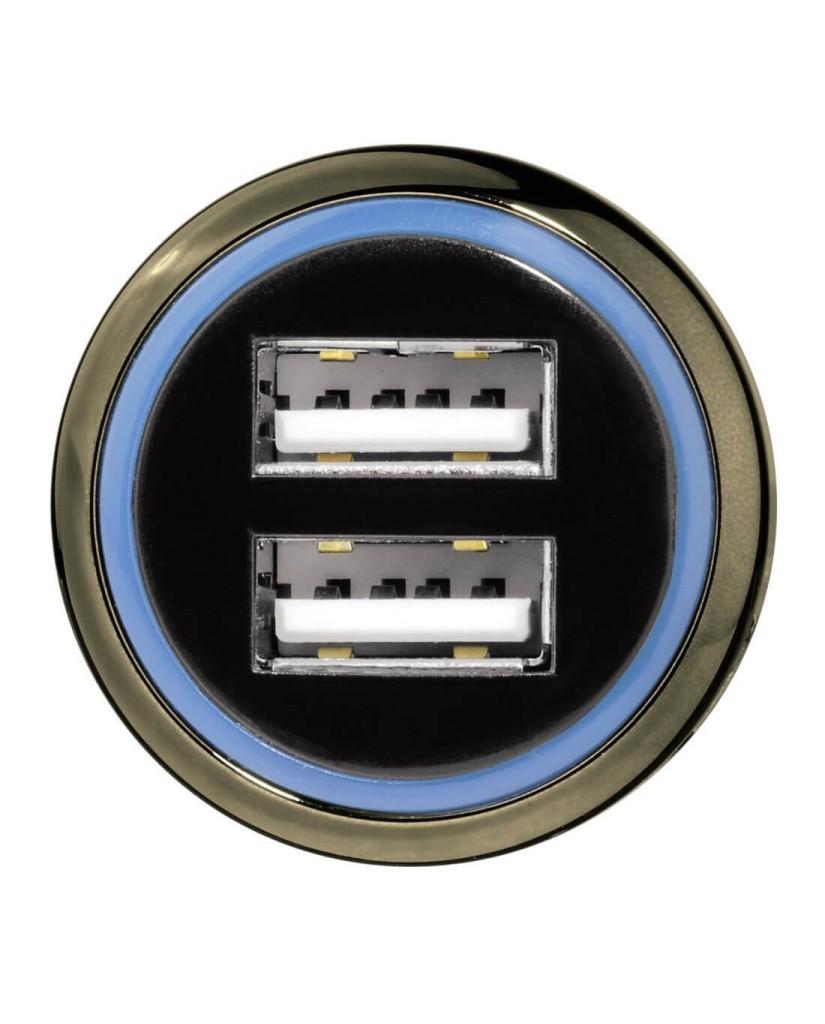 Φορτιστής Αυτοκινήτου HAMA Με 2 Υποδοχές USB 3.1A