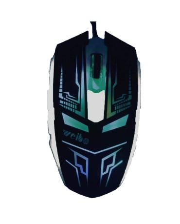 Ενσύρματο Ποντίκι Με LED 6D Gaming Mouse DEADPOOL Σχέδιο - Λευκό/Μαύρο