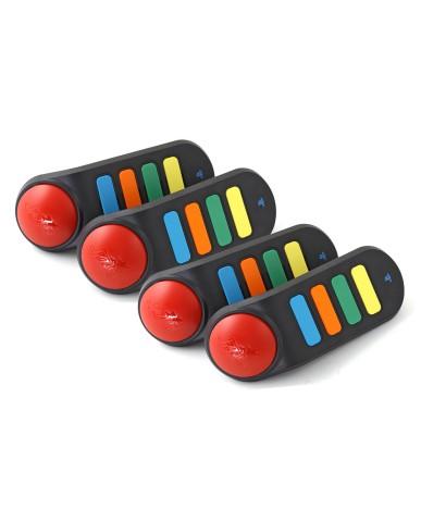 4 Ασύρματα Buzzers + USB Stick Sony - PS3 / PS2