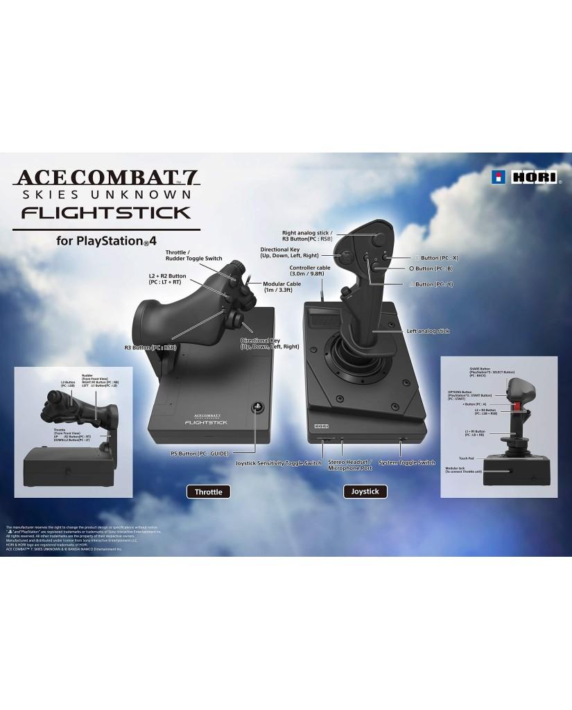 HORI ACE COMBAT 7 HOTAS FLIGHT STICK – PS4 / PS3 / PC