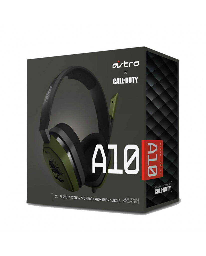ASTRO A10 - CALL OF DUTY EDITION - GAMING HEADSET ΓΙΑ PC / PS4 / XBOX ONE / SMARTPHONES