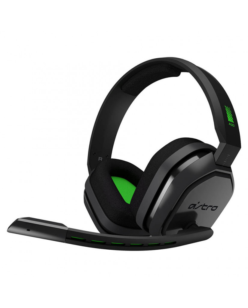 ASTRO A10 - GAMING HEADSET ΓΙΑ PC / PS4 / XBOX ONE / SMARTPHONES – ΓΚΡΙ & ΠΡΑΣΙΝΟ