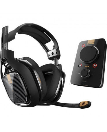 ASTRO A40 ΑΚΟΥΣΤΙΚΑ ΓΙΑ PS4 / PS3 / PC / MAC + MIXAMP PRO TR GAMING HEADSET 7.1 – ΜΑΥΡΟ