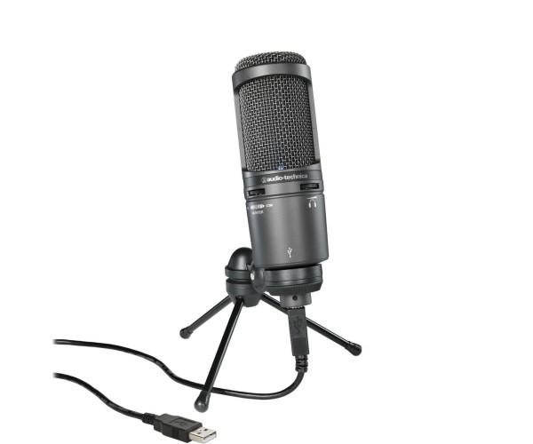 Audio Technica AT2020 USB+ - Καρδιοειδές Πυκνωτικό Μικρόφωνο USB