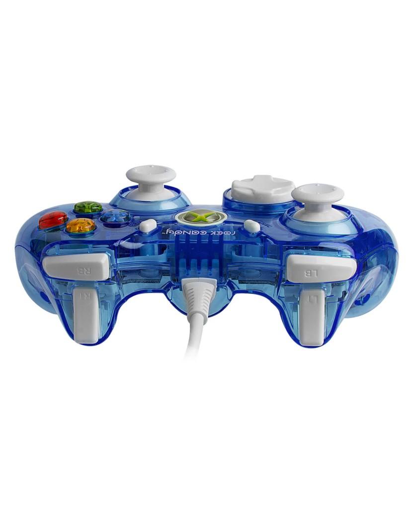 Ενσύρματο Χειριστήριο Xbox 360 & PC Rock Candy - Blueberry Boom