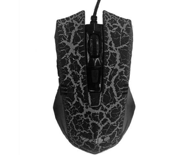 Ενσύρματο Ποντίκι Με LED High Blu-Ray Gaming Mouse - Μαύρο/Γκρι
