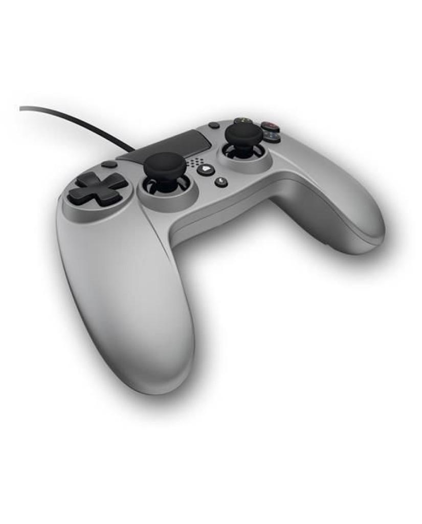 Gioteck VX4 - Ενσύρματο Χειριστήριο για PS4/PC - Γκρι