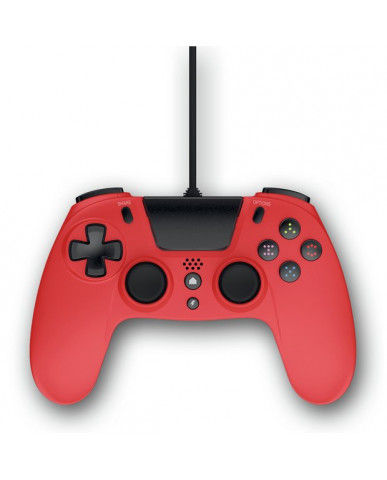 Gioteck VX4 - Ενσύρματο Χειριστήριο για PS4/PC - Κόκκινο