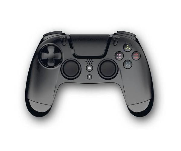 Gioteck VX4 - Ασύρματο Χειριστήριο για PS4/PC - Μαύρο