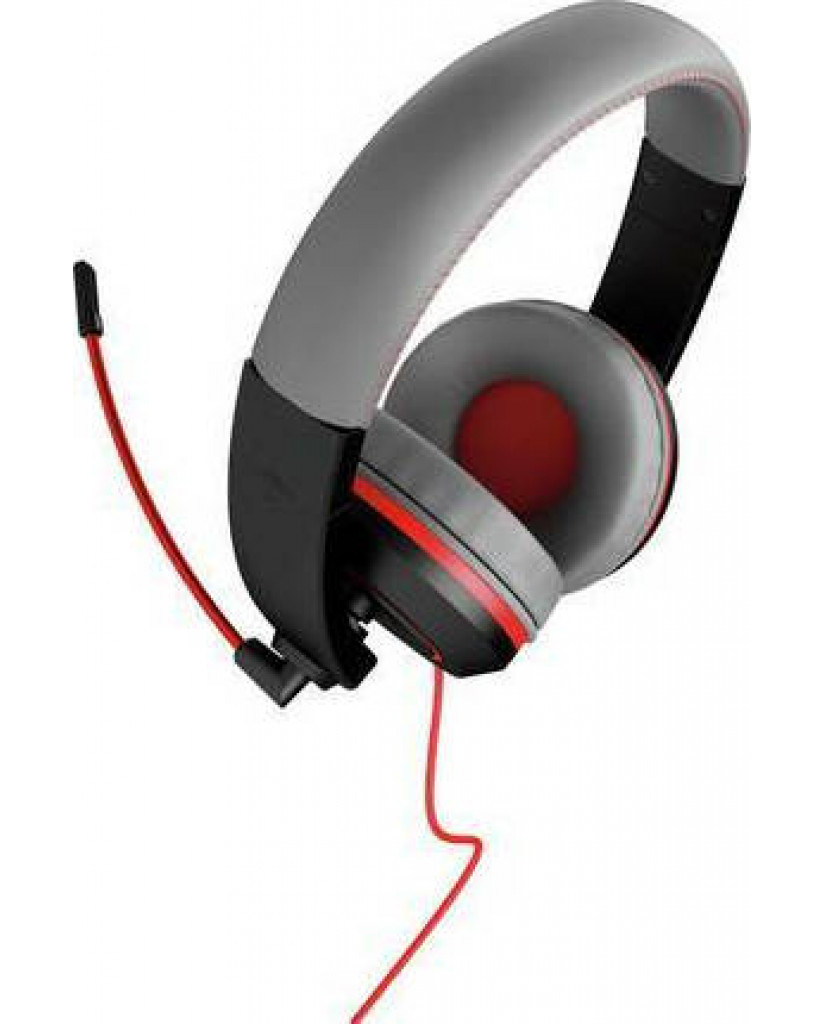 Gioteck Stereo Headset Wired XH-100S (PC/MAC/PS4/XBOX ONE/SWITCH) - Black/Grey/Red