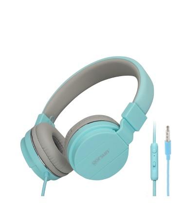 Ακουστικά με Μικρόφωνο GORSUN GS-779 Συμβατά με MP3/PC/Tablet/Laptop/iPad/iPod/Κινητά Τηλέφωνα - Πράσινο