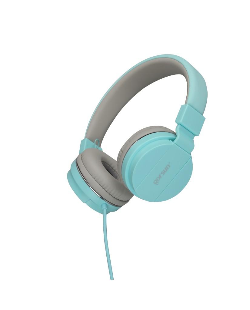 Ακουστικά με Μικρόφωνο GORSUN GS-779 Συμβατά με PS4/MP3/PC/Tablet/Laptop/iPad/iPod/Κινητά Τηλέφωνα - Πράσινο