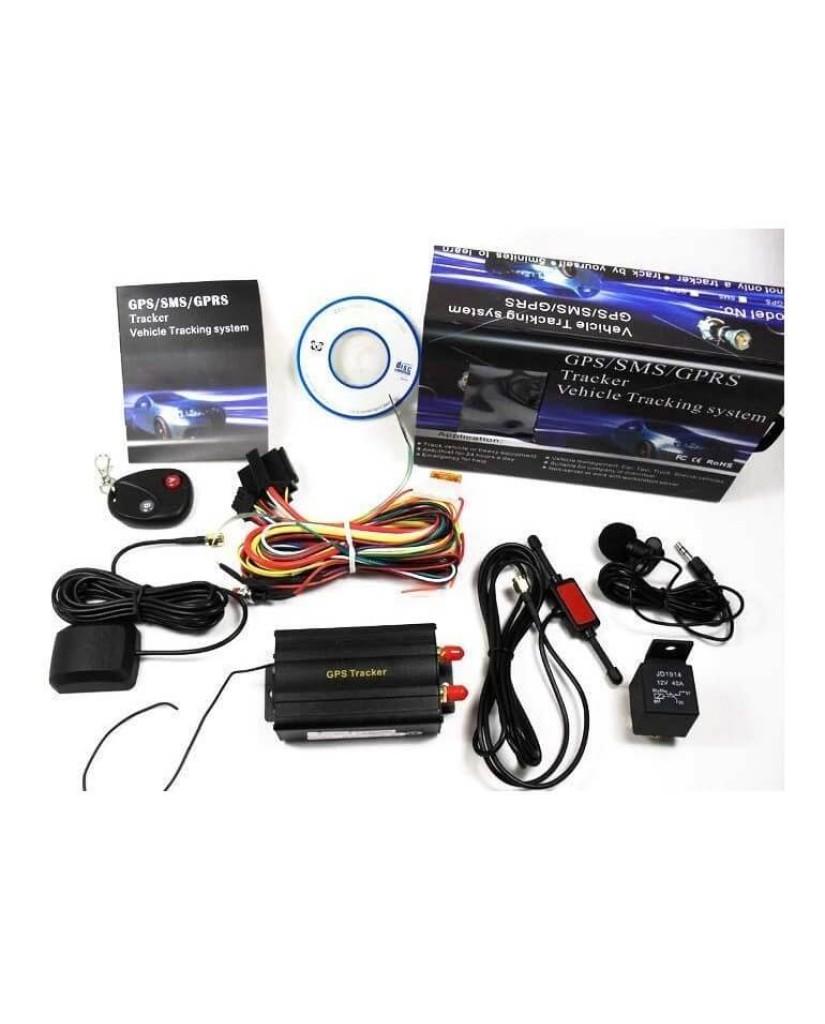 Δορυφορικό Σύστημα Εντοπισμού Θέσης Αυτοκινήτου GPS Tracker Coban 103-B με Ασύρματο Χειριστήριο