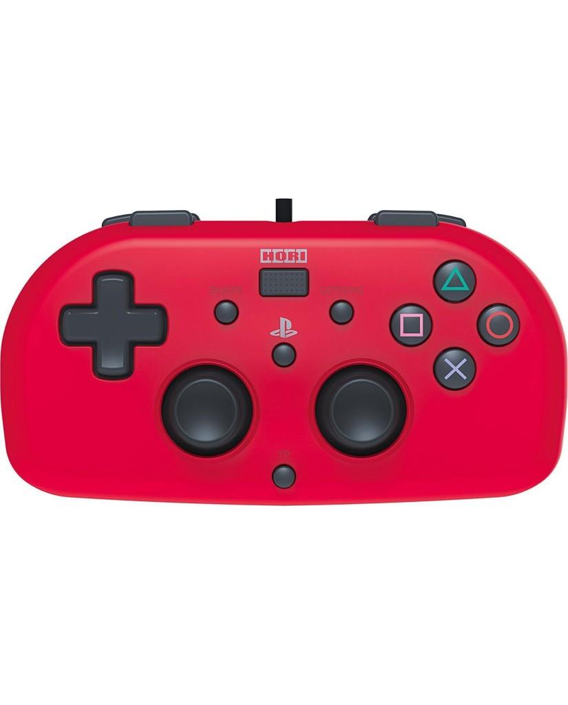Hori Mini Wired Gamepad - Χειριστήριο PS4 - Κόκκινο