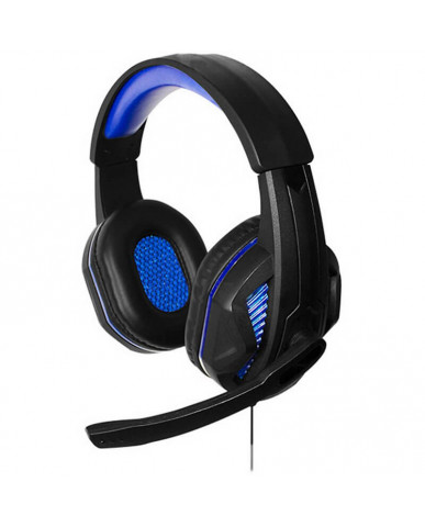 Steelplay HP41 Wired Gaming Headset - PS4/Xbox One/Switch/PC – Μαύρο / Μπλε