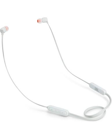 JBL ΑΚΟΥΣΤΙΚΑ IN-EAR T110BT Wireless Handsfree Bluetooth - White