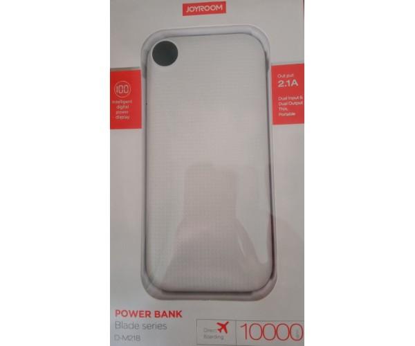 Power Bank 5V 2.1A 10000mAh Joyroom D-M218 - Λευκό
