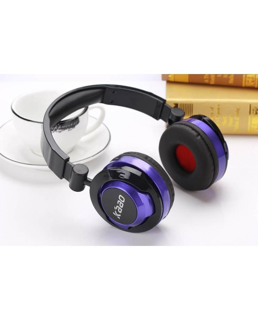 Ενσύρματα Στερεοφωνικά Ακουστικά με Ενσωματωμένο Μικρόφωνο - KAAO AH500