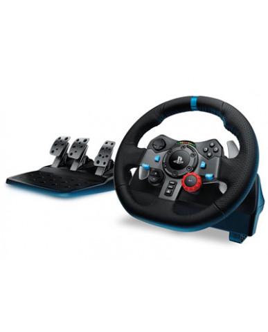 LOGITECH G29 DRIVING FORCE RACING WHEEL - ΤΙΜΟΝΙΕΡΑ ΓΙΑ PS4/PS3/PC