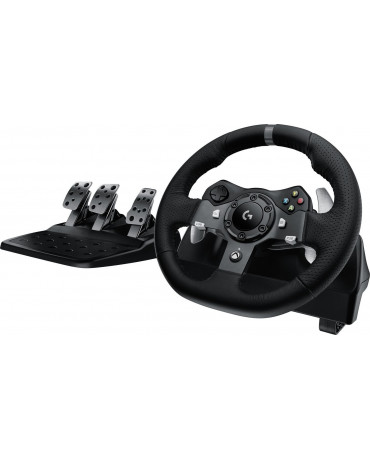 LOGITECH G920 DRIVING FORCE RACING WHEEL + PEDALS - ΤΙΜΟΝΙΕΡΑ ΓΙΑ XBOX ONE/PC